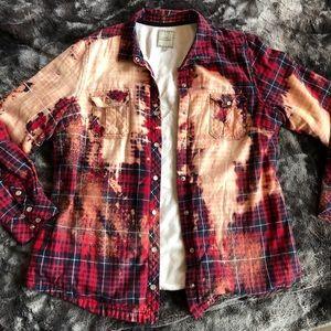 cozy plaid shirt jacket